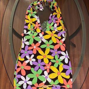 Custom Made Las Vegas Spandex 60's Club Dress*S